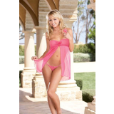 Babydoll Red Diamond Style 5591 pink