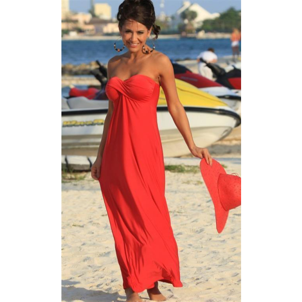 UjENA Celebrity Getaway langes Kleid