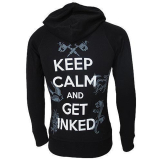 Darkside Zip Hood Keep Calm Get Inked