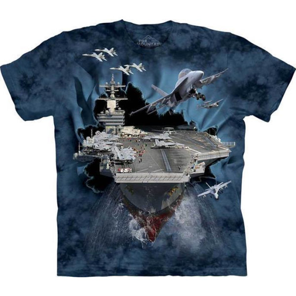 The Mountain Kinder T-Shirt Aircraft Carrier Breakthrough