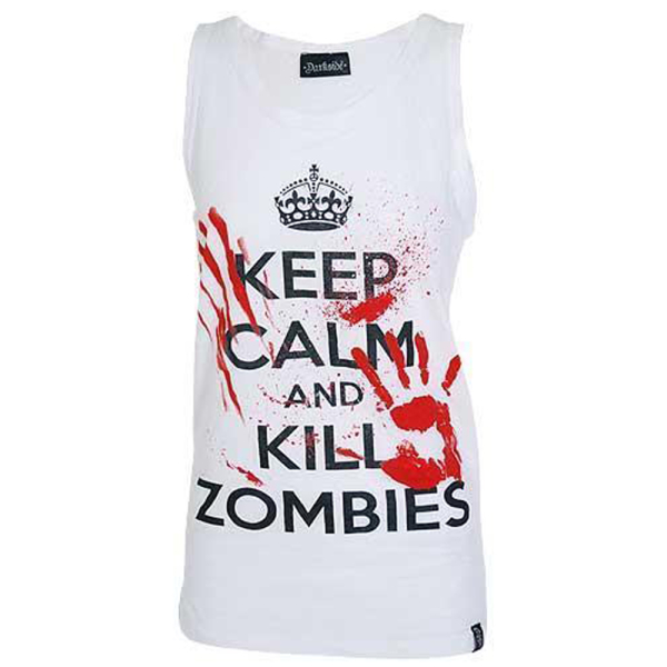 Darkside Träger Shirt Keep Calm Kill Zombies