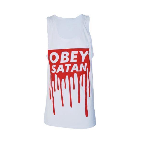 Darkside Träger Shirt Obey Satan