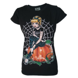 Darkside Womens T Shirt Cinders