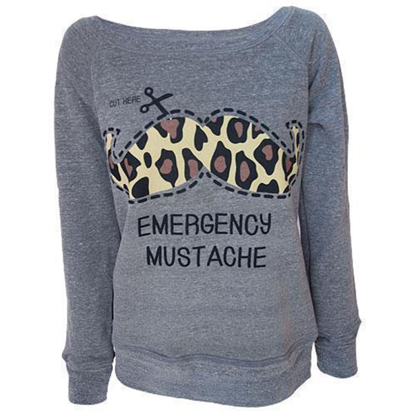 Darkside Sweatshirt Emergency Moustache