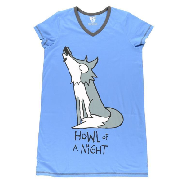 LazyOne Damen Nachtshirt Howl of a Night