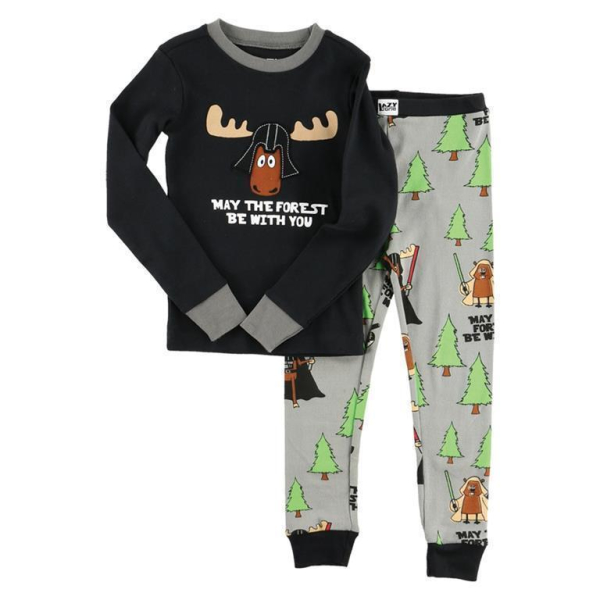 LazyOne Kinderpyjamaset Langarm May The Forest Be With You